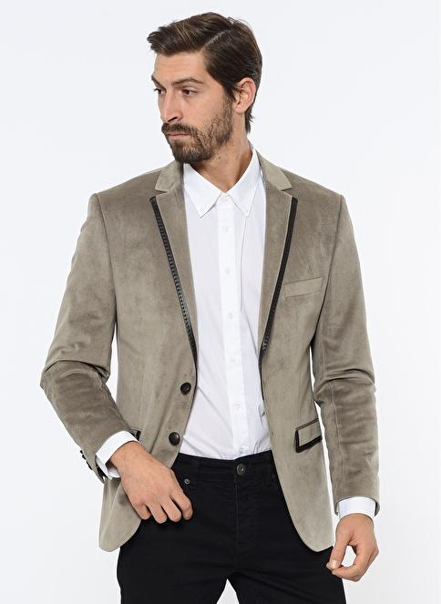 Comienzo Blazer Ceket Bej